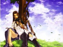 Картинки аниме романтика