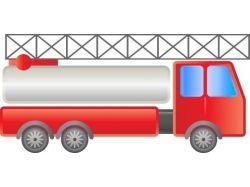 Пожарная машина в картинках