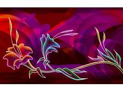 Абстрактные цветы картинки 2