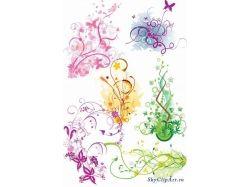 Абстрактные цветы картинки 4