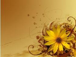 Абстрактные цветы картинки 6