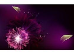 Абстрактные цветы картинки 7