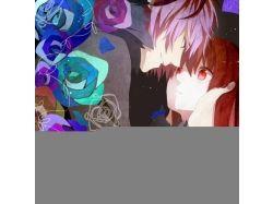 Фото аниме любовь