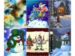 Картинки на телефон новогодние