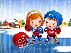 Рисунки про здоровье и спорт