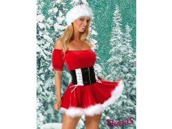 Картинки костюм снегурочки