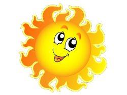 Солнце картинки для детей