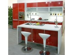 Полуостровная кухня фото