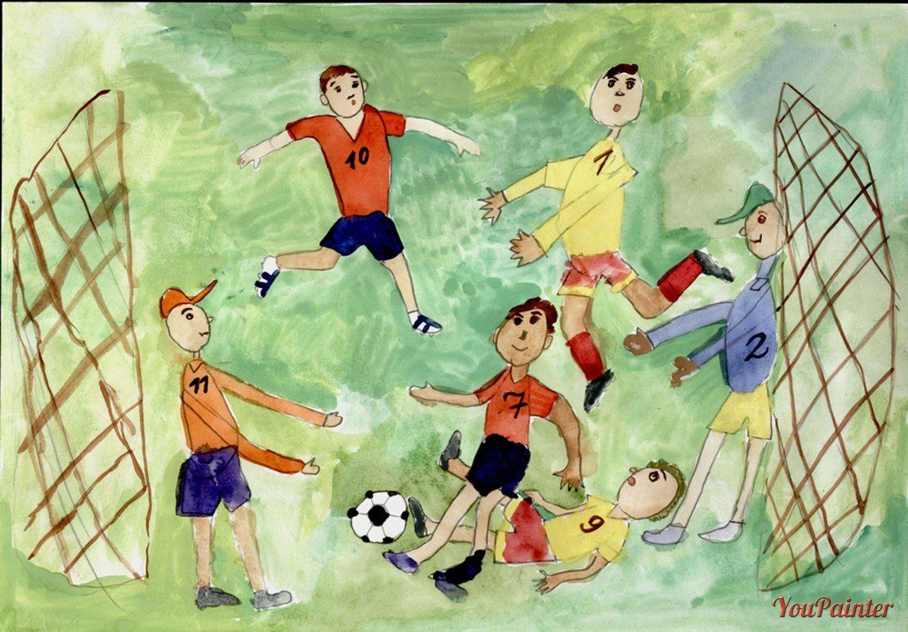 фото картинки рисунки про спорт отчаянье мальчик спрыгнул
