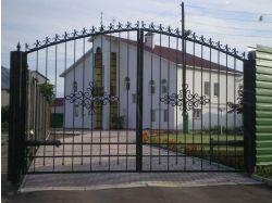 Ажурные ворота фото