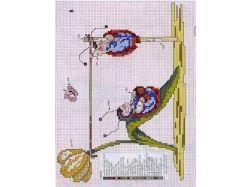 Картинки для вышивания крестиком для детей