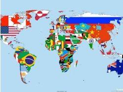 Флаги всех стран фото