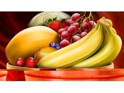 Обои с фруктами