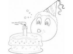 Как нарисовать рисунок на день рождения