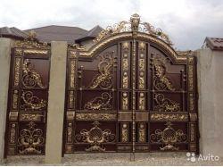 Кованые ворота нальчик