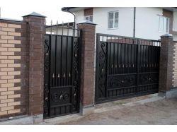 Кованые ворота нальчик 7