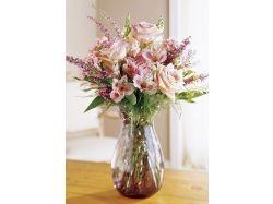 Картинки раскраски цветы в вазе 5