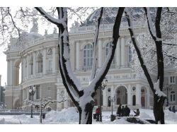 Фото зимняя одесса