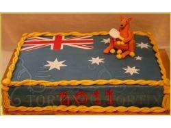 Австралийский флаг фото 2