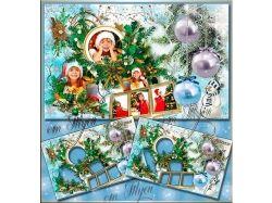 Рождественские картинки для раскрашивания