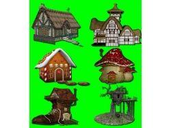 Картинки сказочные домики 1