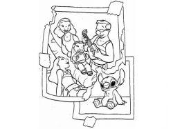Раскраски на тему моя семья 2