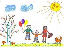 Раскраски на тему моя семья 4