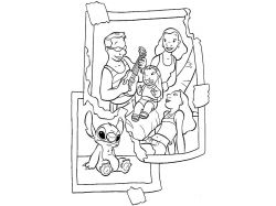 Раскраски на тему моя семья 6