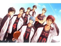 Картинки аниме баскетбол куроко 5