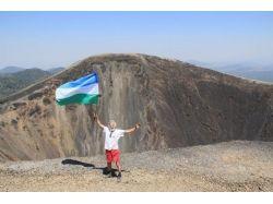 Флаг башкирии и россии 4