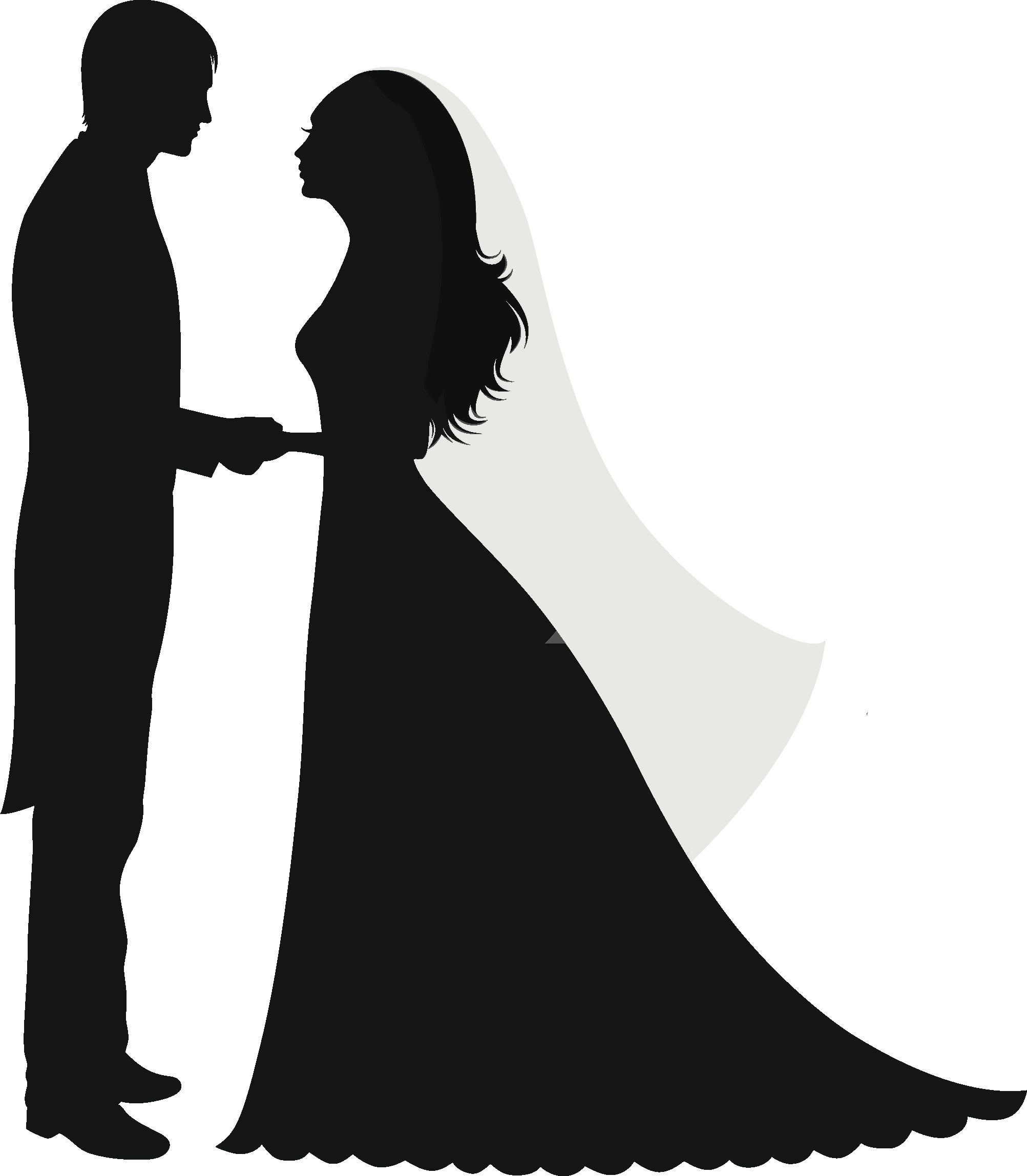 Жених и невеста шаблоны для вырезания