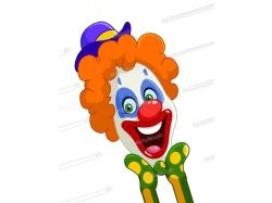 Лицо клоуна фото 1