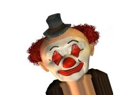 Лицо клоуна фото 2