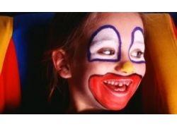 Лицо клоуна фото 4