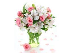 Красивые букеты цветов в картинках 1