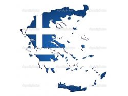 Фото флага греции