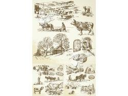 Рисунки деревни 2