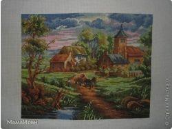 Рисунки деревни 4
