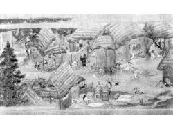 Рисунки деревни 5