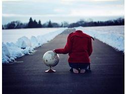 Профессиональные фото девушек зимой 2