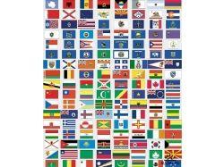 Флаги стран мира с животными