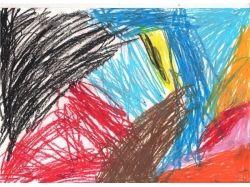 Новогодние рисунки цветными карандашами 6