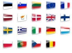 Флаги европейских стран фото