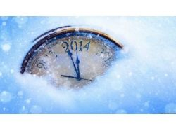 Картинки новогодние часы 2