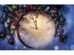 Картинки новогодние часы 3