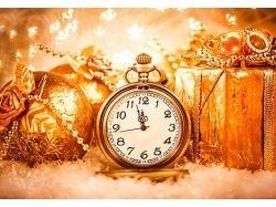 Картинки новогодние часы 4