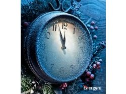 Картинки новогодние часы 8