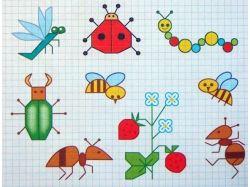 Рисуем по клеточкам картинки 7