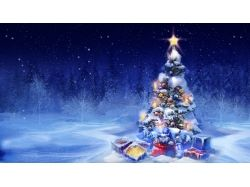 Рисунок елка новогодняя 8