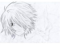 Рисунки карандашом аниме для начинающих 4